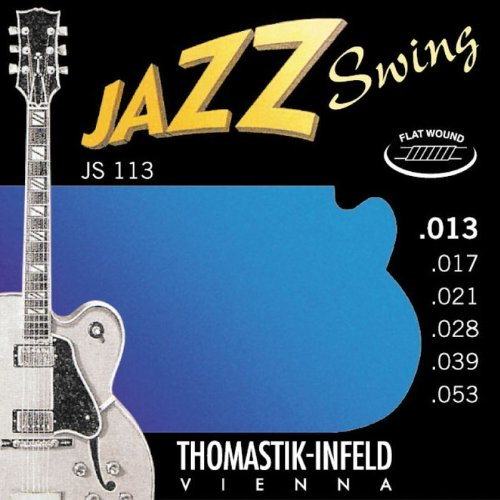 Thomastik JS113 Set Medium Jazz Swing Flat Guitar